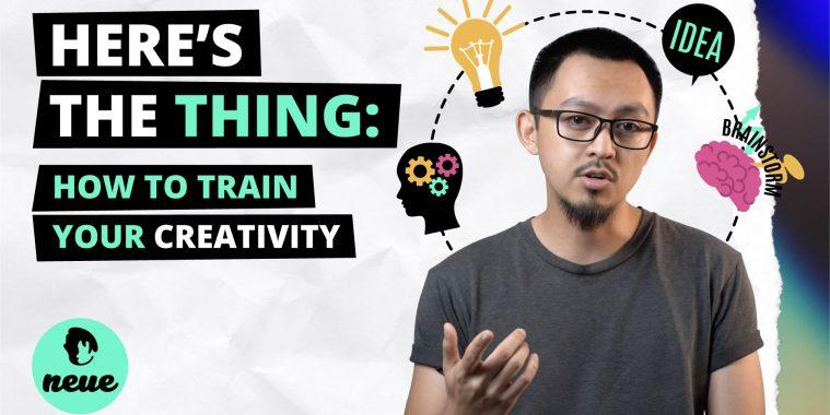 Here's The Thing Creativity