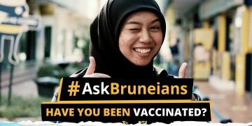 Ask Bruneians Vaccinated